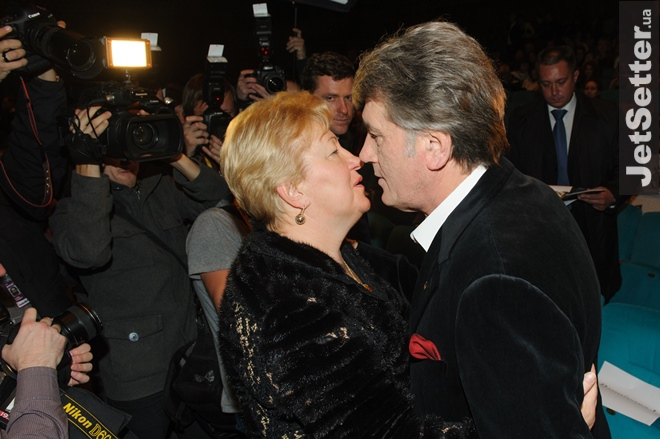 Вера Ульянченко и Виктор Ющенко