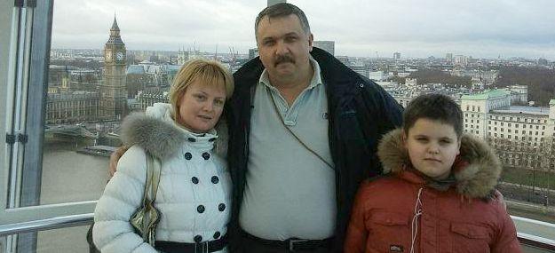 Завгородний с семьей в Лондоне