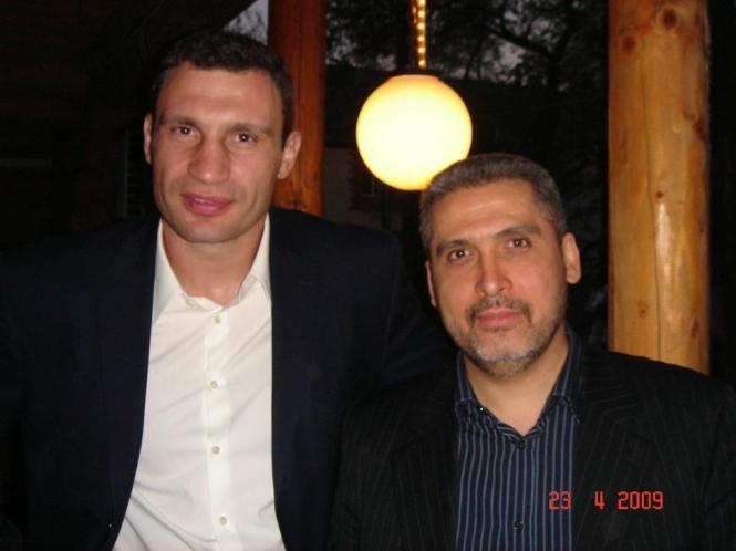 Виталий Кличко и Константин Бедовой