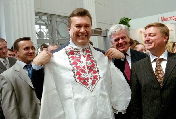 Премьер-министр Украины Виктор Янукович, 2004 год