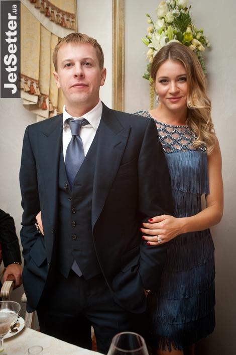 Виталий Хомутынник с супругой