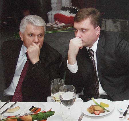 Владимир Литвин и Сергей Левочкин