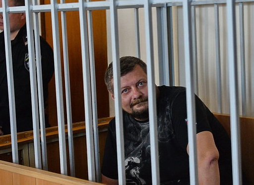 Игорь Мосийчук за решеткой