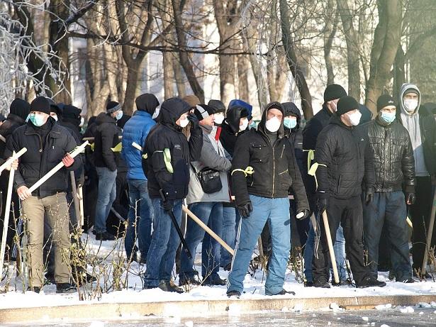 титушки в Днепропетровске