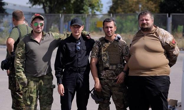 «Бойцы» Игорь Мосийчук и Олег Ляшко