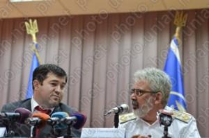 Голова ДФС Роман Насіров і Ігор Піковський