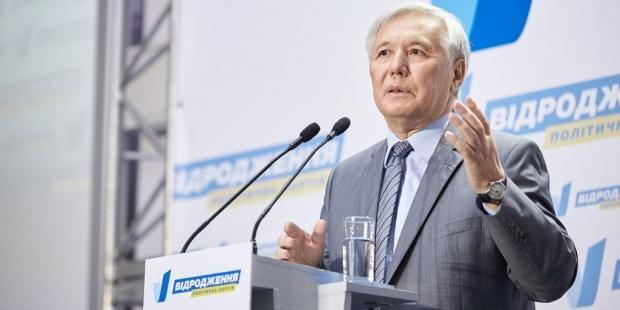 Юрий Ехануров кандидат в мэры Киева от партии «Видродження»