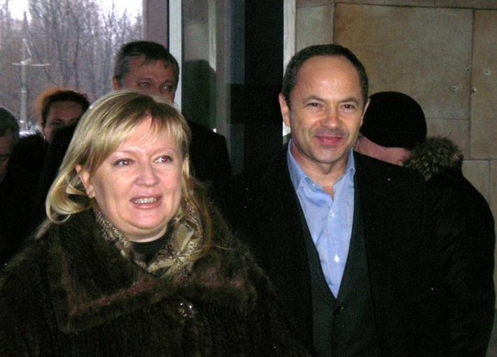 Светлана Фабрикант и Сергей Тигипко