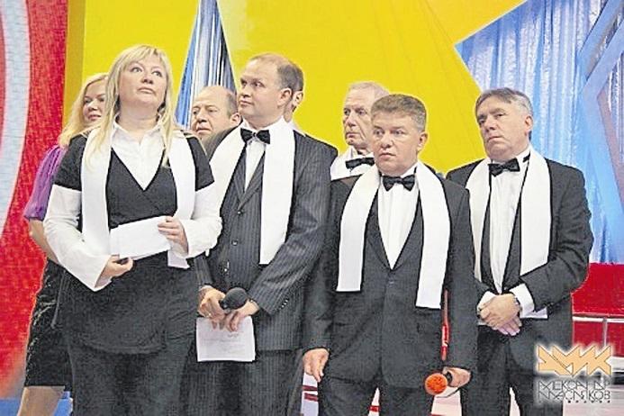 Команда КВН «Одесские джентльмены» со Светланой Фабрикант