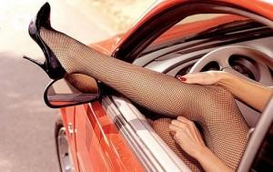 длинные ноги машина