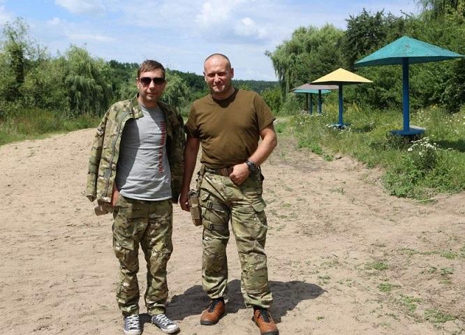 Артем Скоропадский и Дмитрий Ярош