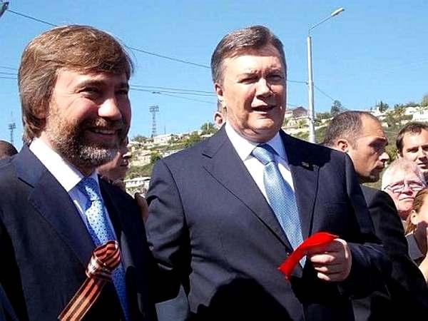 Вадим Новинский и Виктор Янукович