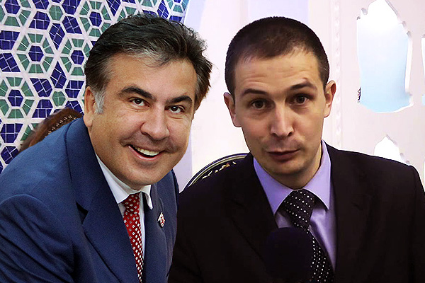 Михаил Саакашвили и Денис Антонюк