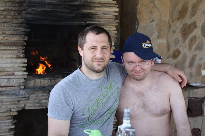 Андрей Хоменко и Роман Беляга