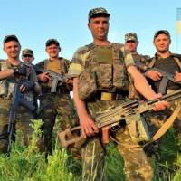 бойцы ато