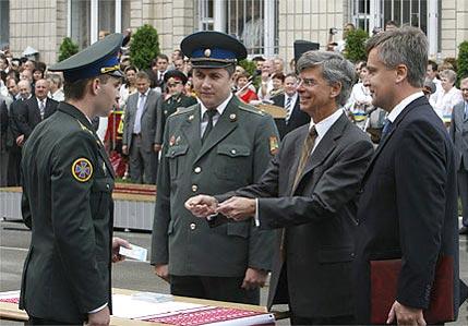 вручение дипломов СБУ ЦРУ Наливайченко