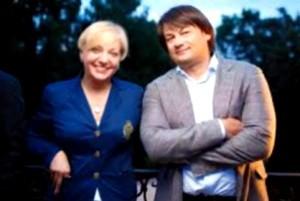Валерия Гонтарева и Николай Лагун