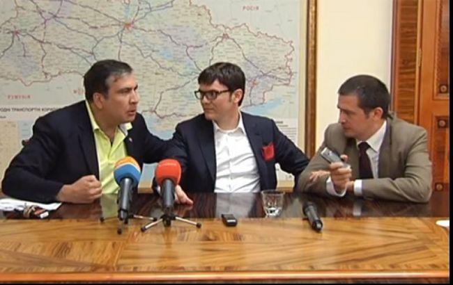 конфликт Саакашвили и Пивоварского