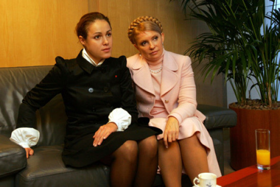 Наталья Королевская и Юлия Тимошенко