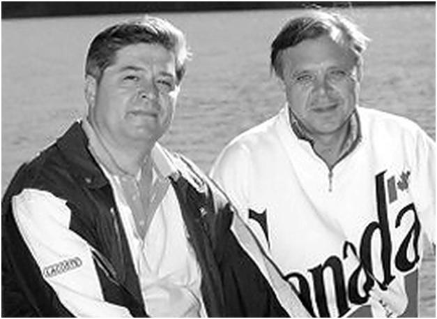 Павел Лазаренко и Петр Кириченко