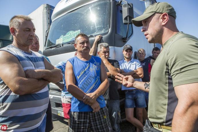 Кива в Крыму во время блокады