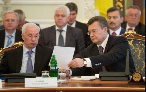 Азаров Янукович1