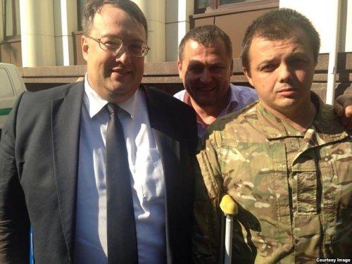 Антон Геращенко и Семен Семенченко