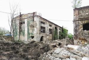 Развалины завода «Краян»