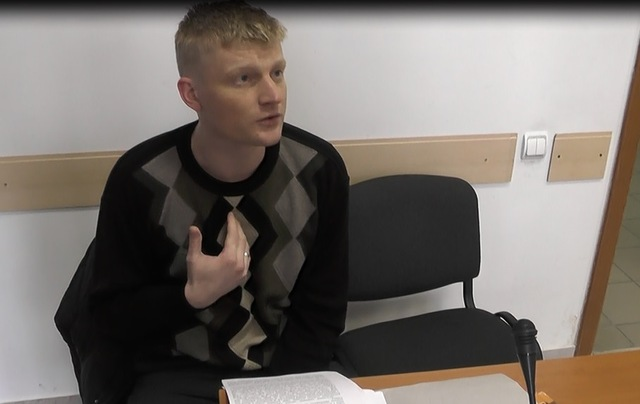 На скриншоте: Владимир Шмаровоз