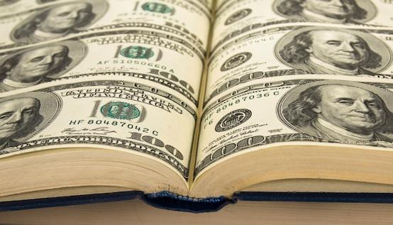 буква книга доллар