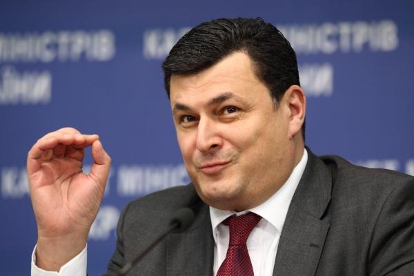 Healthcare Minister of Ukraine Oleksandr Kvitashvili.