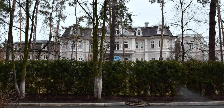 "Дворец скрыт среди деревьев, фото: Аркадий Манн, ""Страна"""