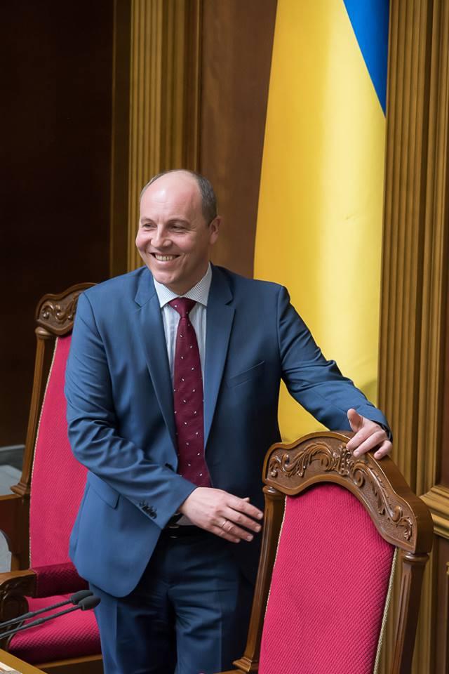 Сегодня Андрей Парубий получил наибольшую поддержку в сессионном зале. Фото: Богдан Бортаков / Facebook