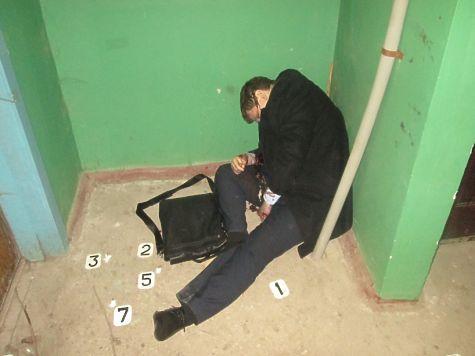 Место убийства Дмитрия Каргаева
