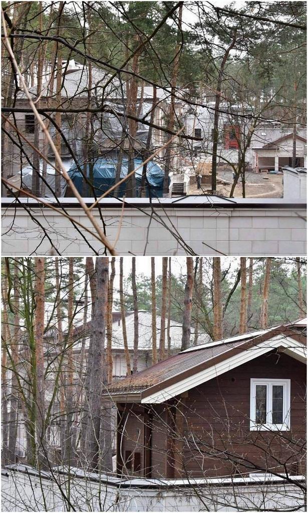 """Во дворе племянницы Таруты работает десяток строителей, фото: Аркадий Манн, """"Страна"""""""