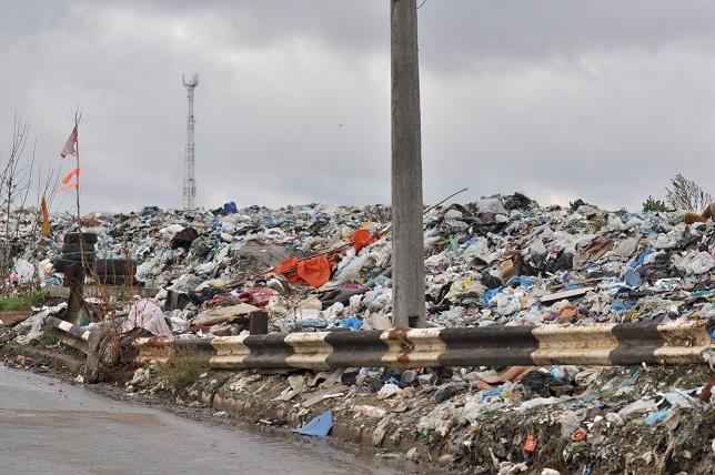 Полигон твердых бытовых отходов в с.Подгорцы Обуховского района