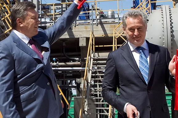 Дмитрий Фирташ и Виктор Янукович. Источник фото espreso.tv