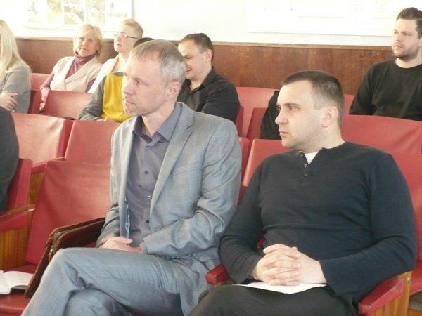 Константин Пидпокровный (справа)