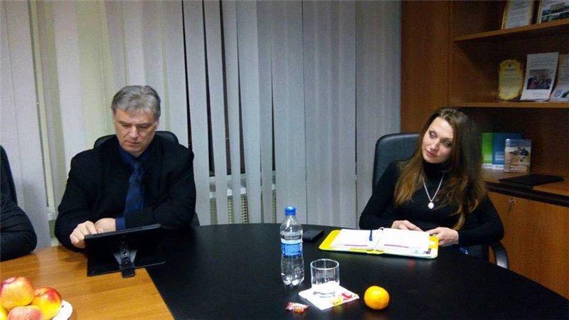 Пресс-секретарь мэра Белой Церкви Инна Мазурук