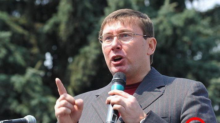 Юрий Луценко в 2002 году
