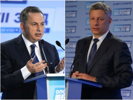 Борис Колесников и Юрий Бойко