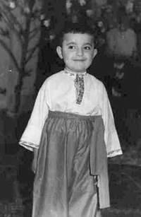 Вадим Рабинович в детстве