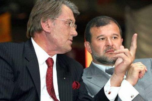 Виктор Ющенко и Виктор Балога