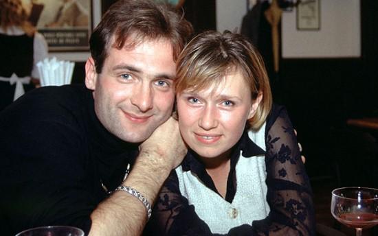 Георгий Гонгадзе и Алена Притула