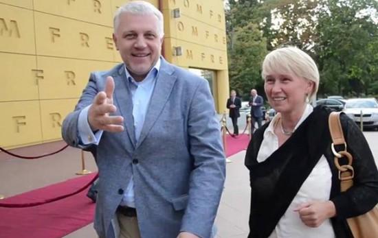 Павел Шеремет и Алена Притула