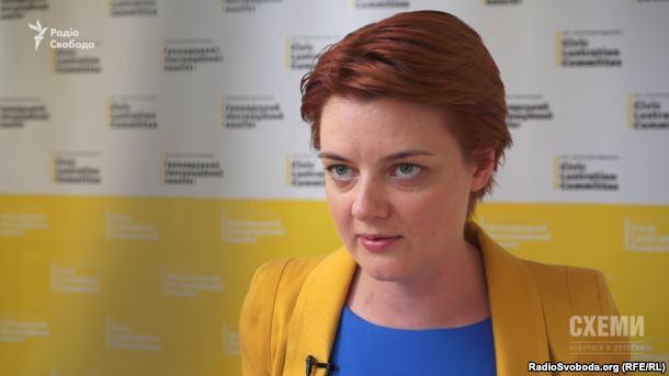 Голова ради «Громадського люстраційного комітету» Олександра Дрік