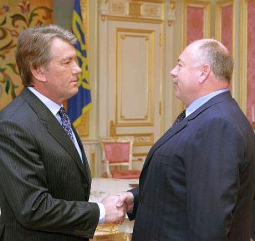 Виктор Ющенко и Святослав Пискун