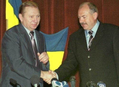 Леонид Кучма и Святослав Пискун