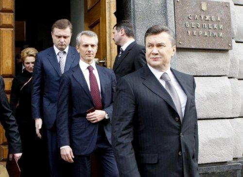 Хорошковский Янукович