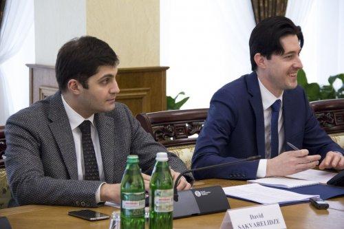 Давид Сакварелидзе и Виталий Касько